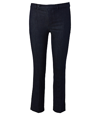 MAX MARA Denim Pants Women's Blue