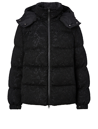 VALENTINO Cotton-Blend Puffer Coat Cotton-Blend Puffer Coat Black