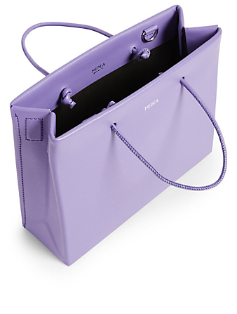 MEDEA Hanna Medea Prima Leather Bag Women's Purple