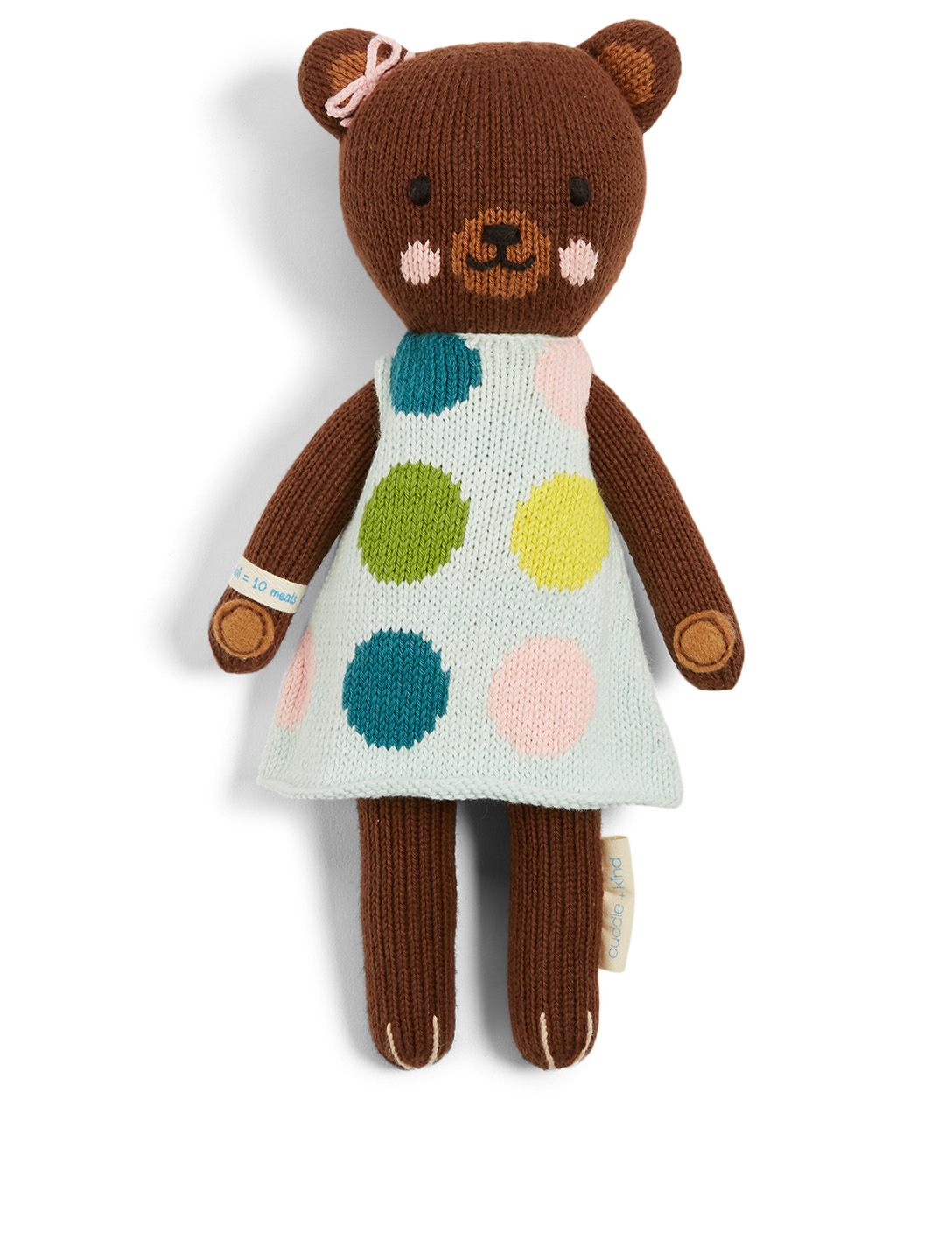 CUDDLE+KIND Mini Ivy The Bear Knit Doll H Project