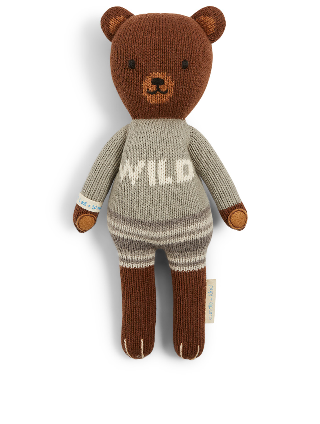 CUDDLE+KIND Mini Oliver The Bear Knit Doll H Project