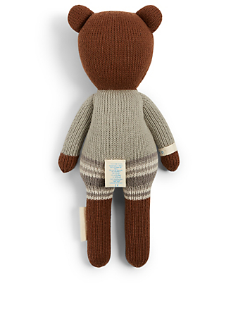 CUDDLE+KIND Mini Oliver The Bear Knit Doll Kids