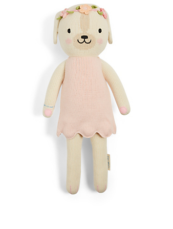 CUDDLE+KIND Charlotte The Dog Knit Doll H Project