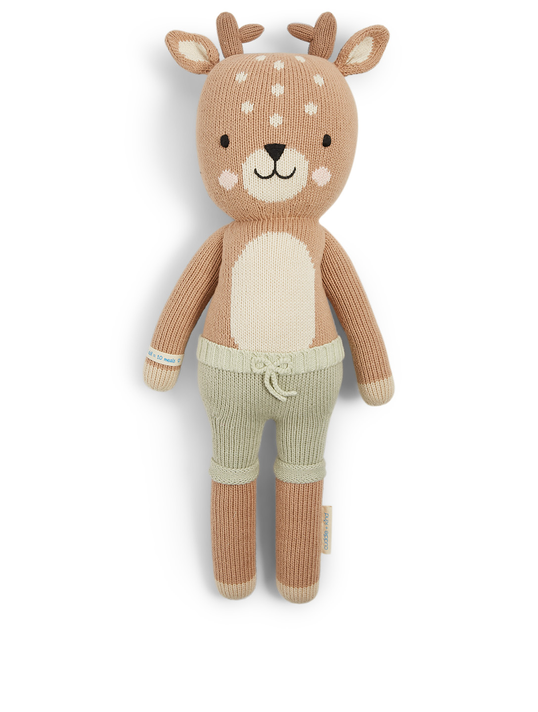 CUDDLE+KIND Elliott The Fawn Knit Doll H Project