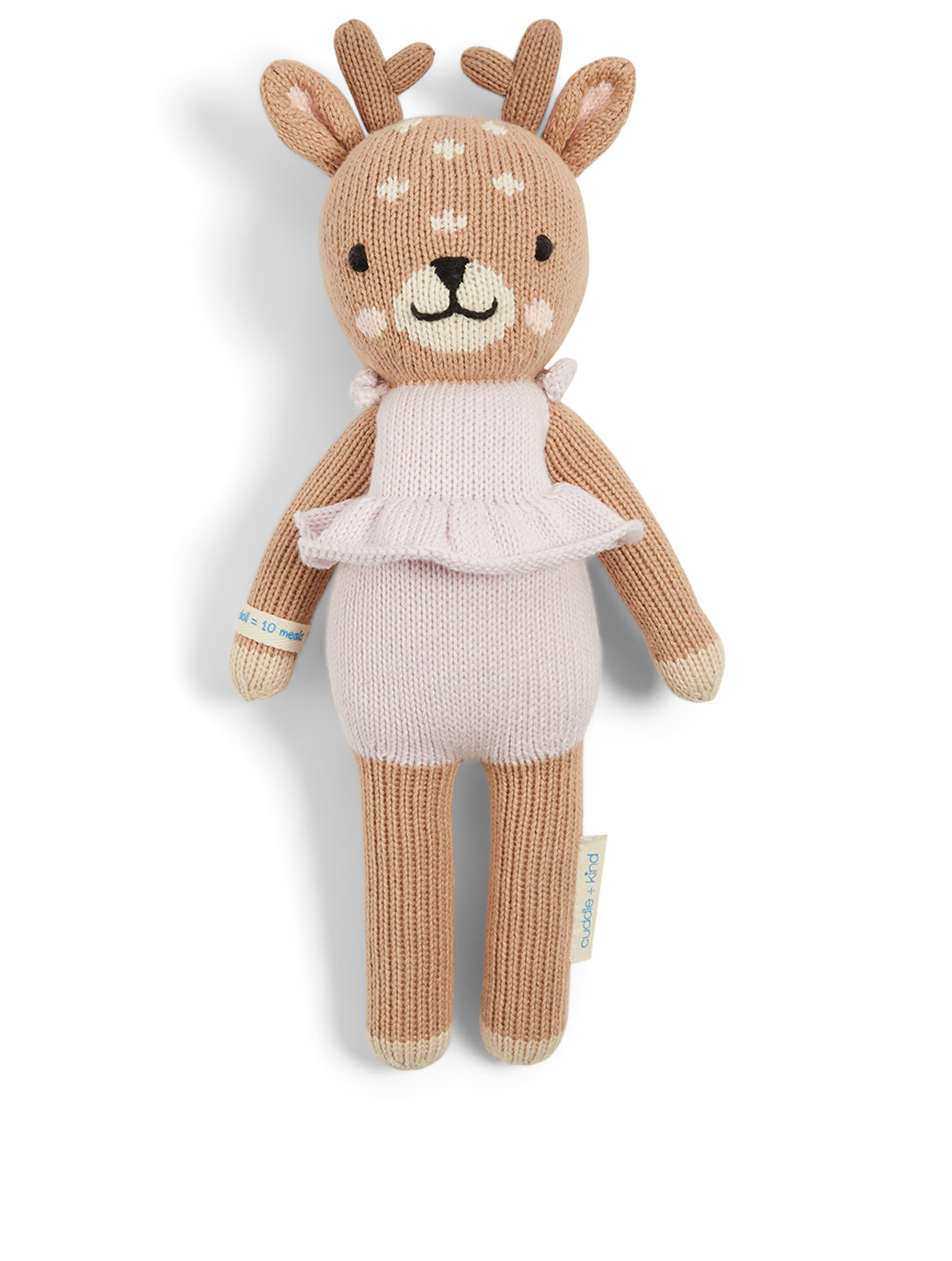 CUDDLE+KIND Mini Violet The Fawn Knit Doll H Project