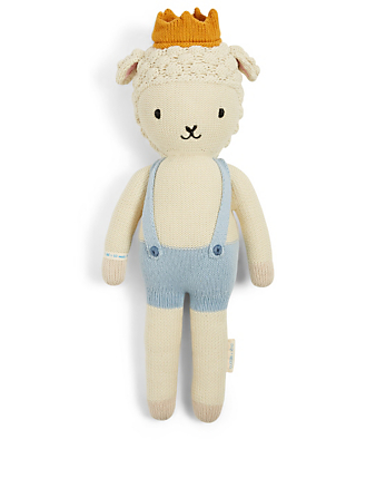 CUDDLE+KIND Sebastian The Lamb Knit Doll Kids