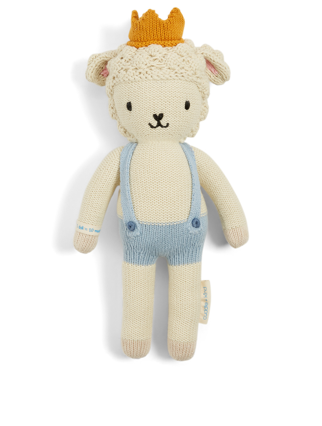 CUDDLE+KIND Mini Sebastian The Lamb Knit Doll H Project