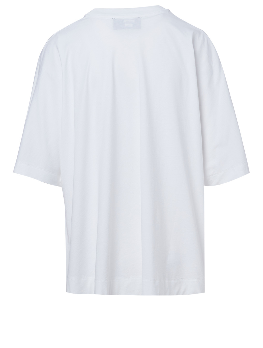 SIMONE ROCHA Cotton T-Shirt In Flower Print Women's White