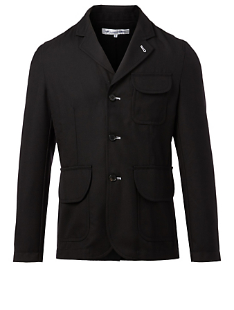 COMME DES GARÇONS SHIRT Wool-Blend Jacket Men's Black