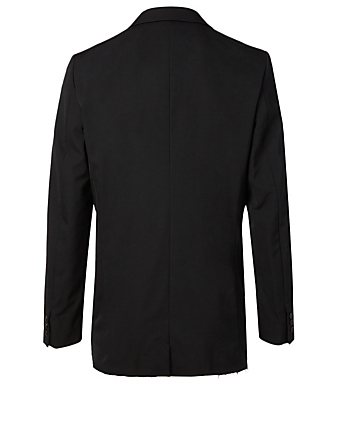 COMME DES GARÇONS HOMME PLUS Wool Deformed Jacket Men's Black
