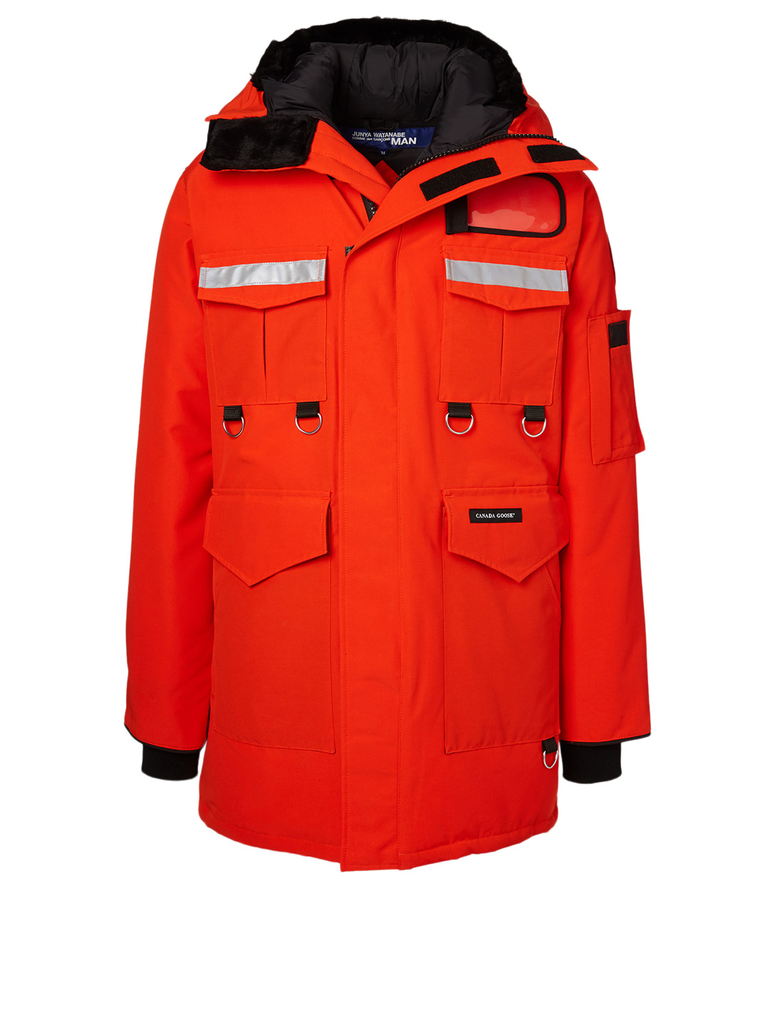 JUNYA WATANABE Junya Watanabe x Canada Goose Down Coat Men's Orange