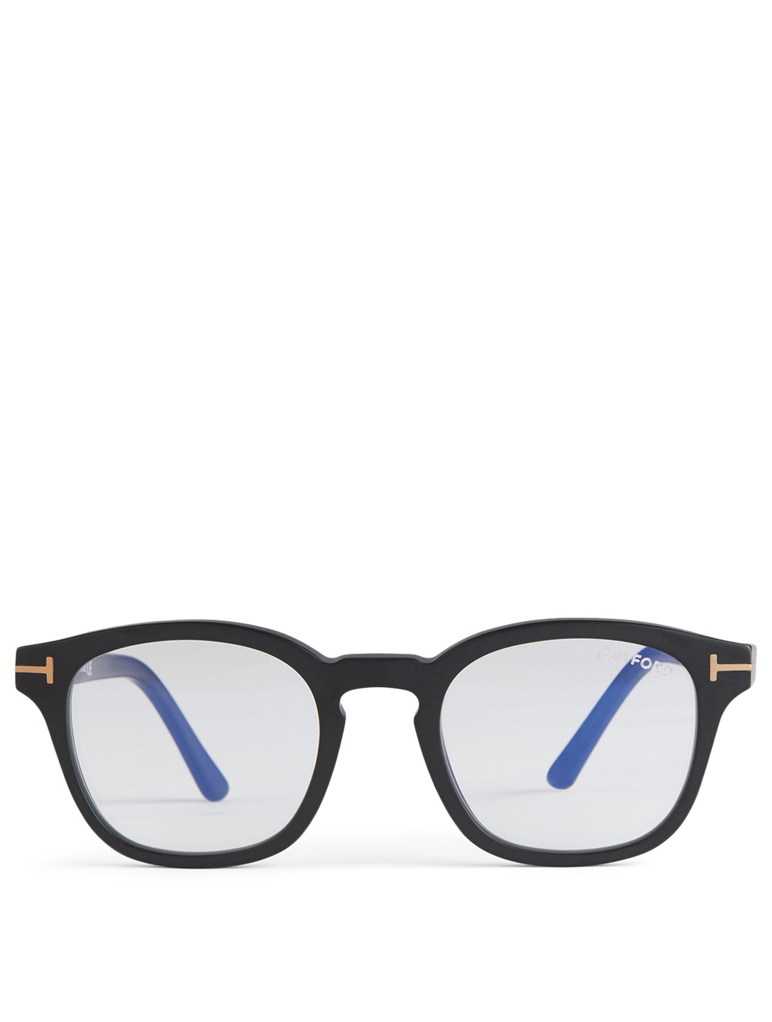 TOM FORD Square Optical Glasses With Blue Block Lenses And