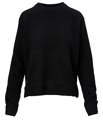 ACNE STUDIOS Wool And Cashmere Sweater Women's Black