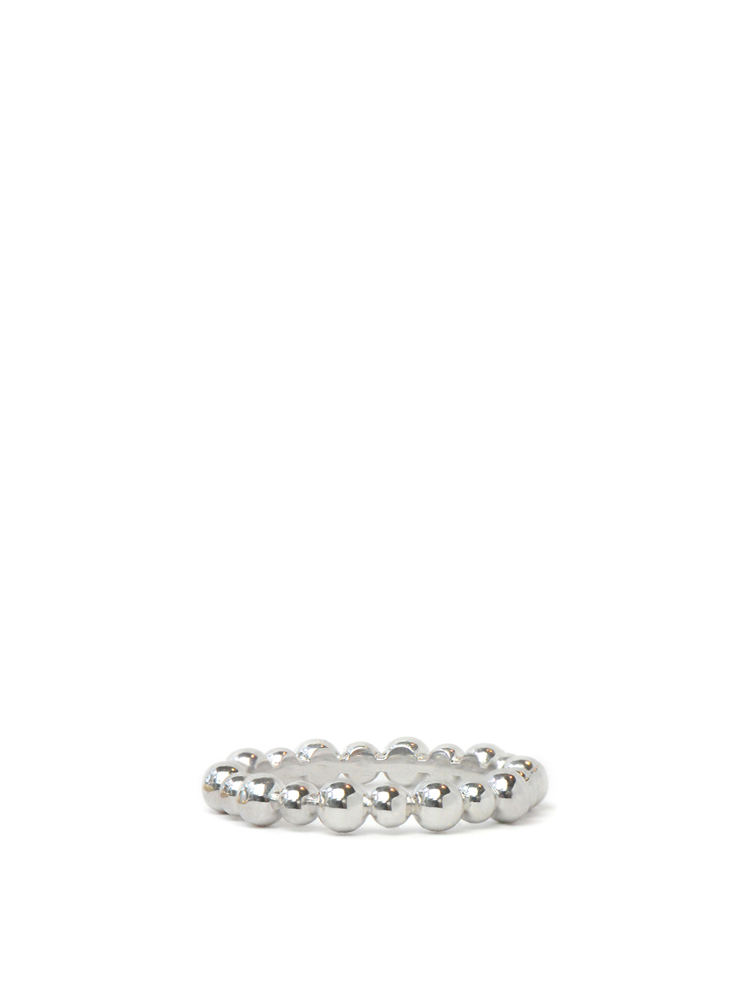 ANZIE Dew Drop Sterling Silver Band Women's Metallic