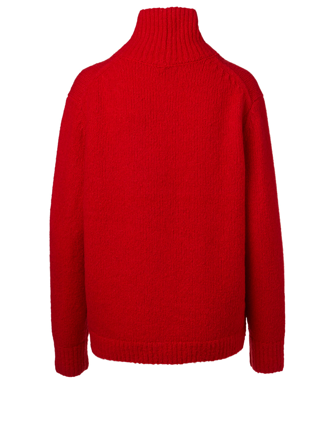 ACNE STUDIOS Wool And Cashmere Turtleneck Sweater Women's Red