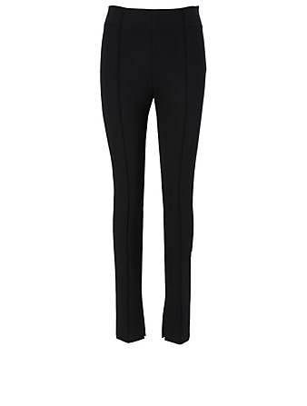 TOTÊME Zalana Split Pants Women's Black