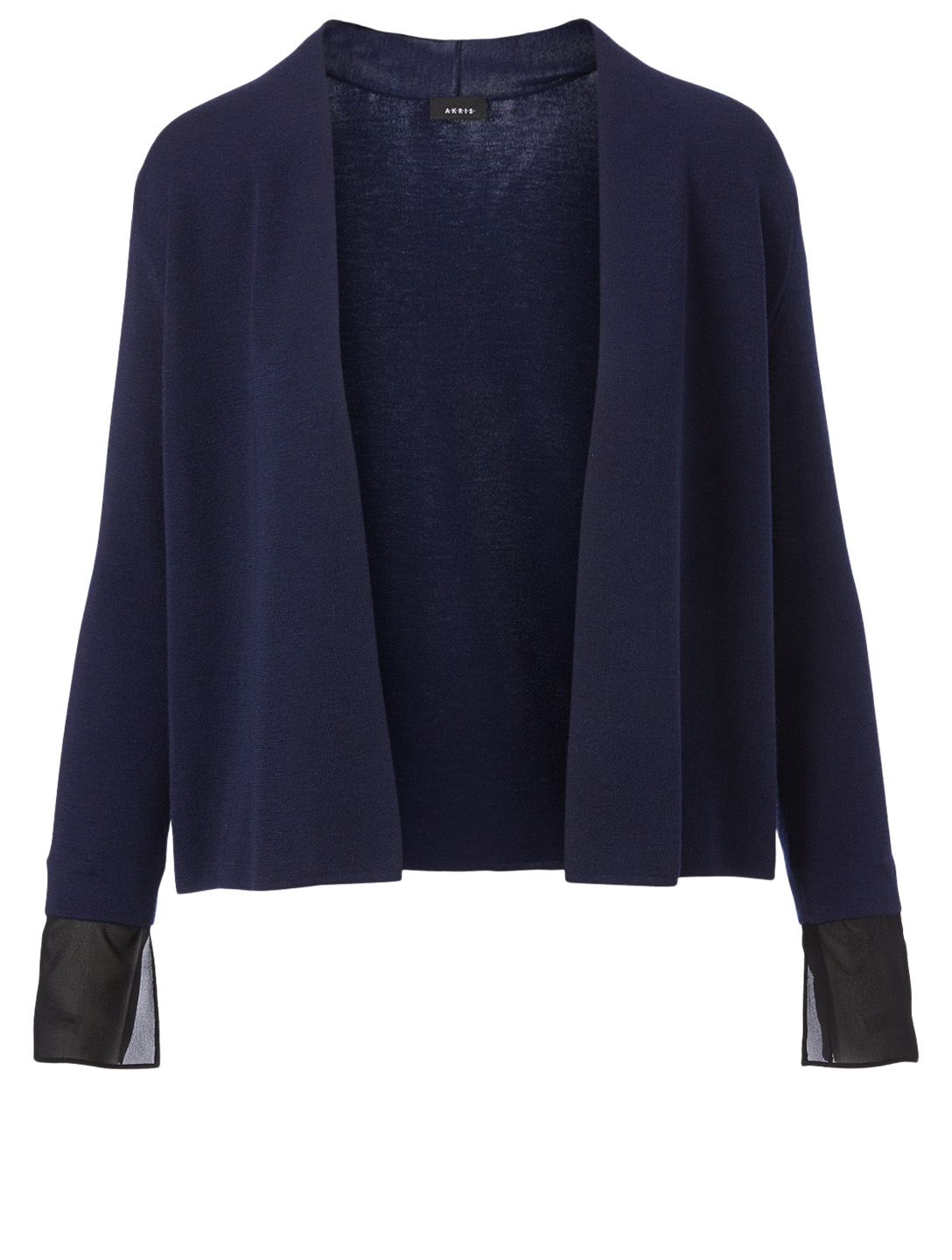 AKRIS Cashmere And Silk Cardigan Women's Blue
