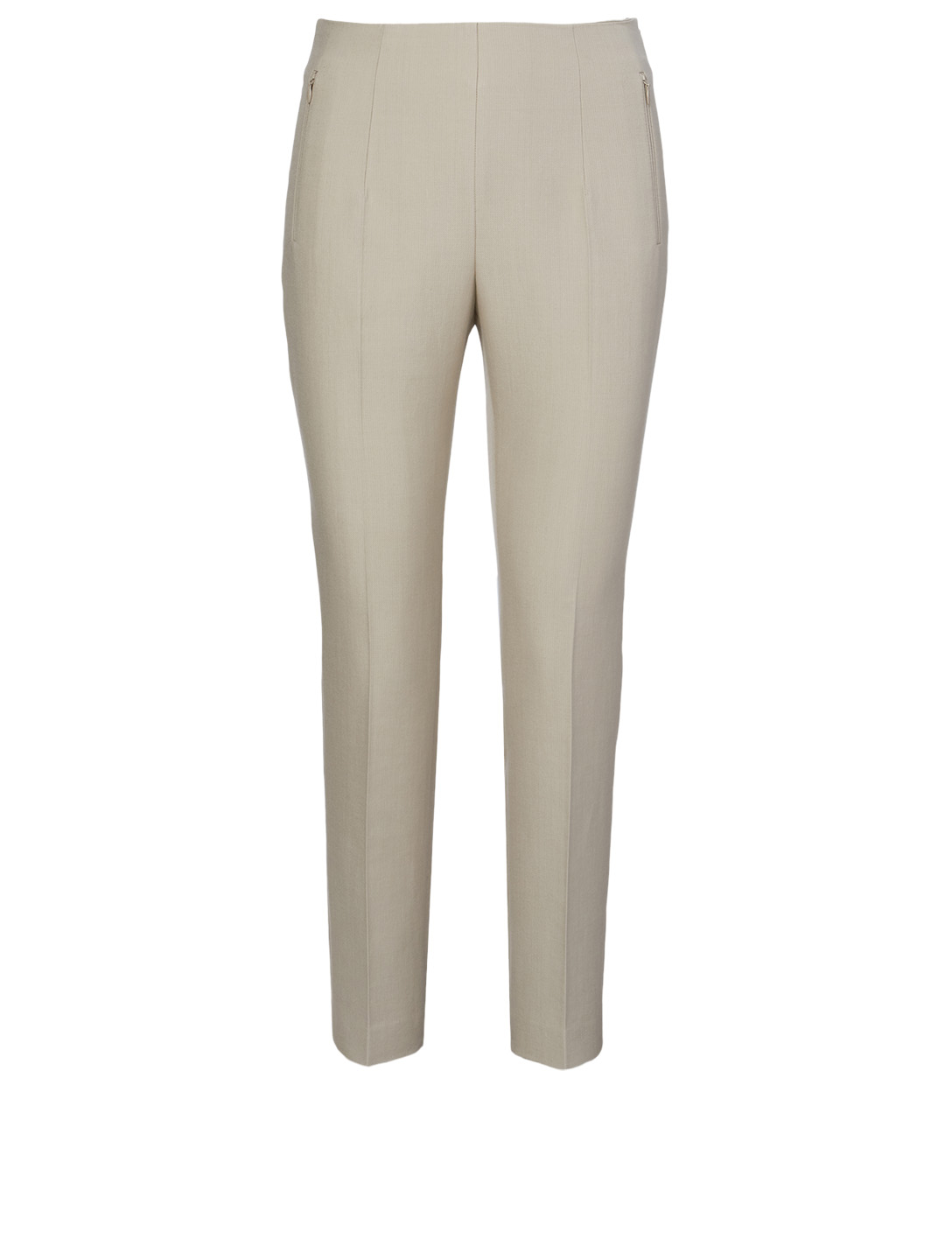 AKRIS Conny Cotton And Silk Pants Women's Grey