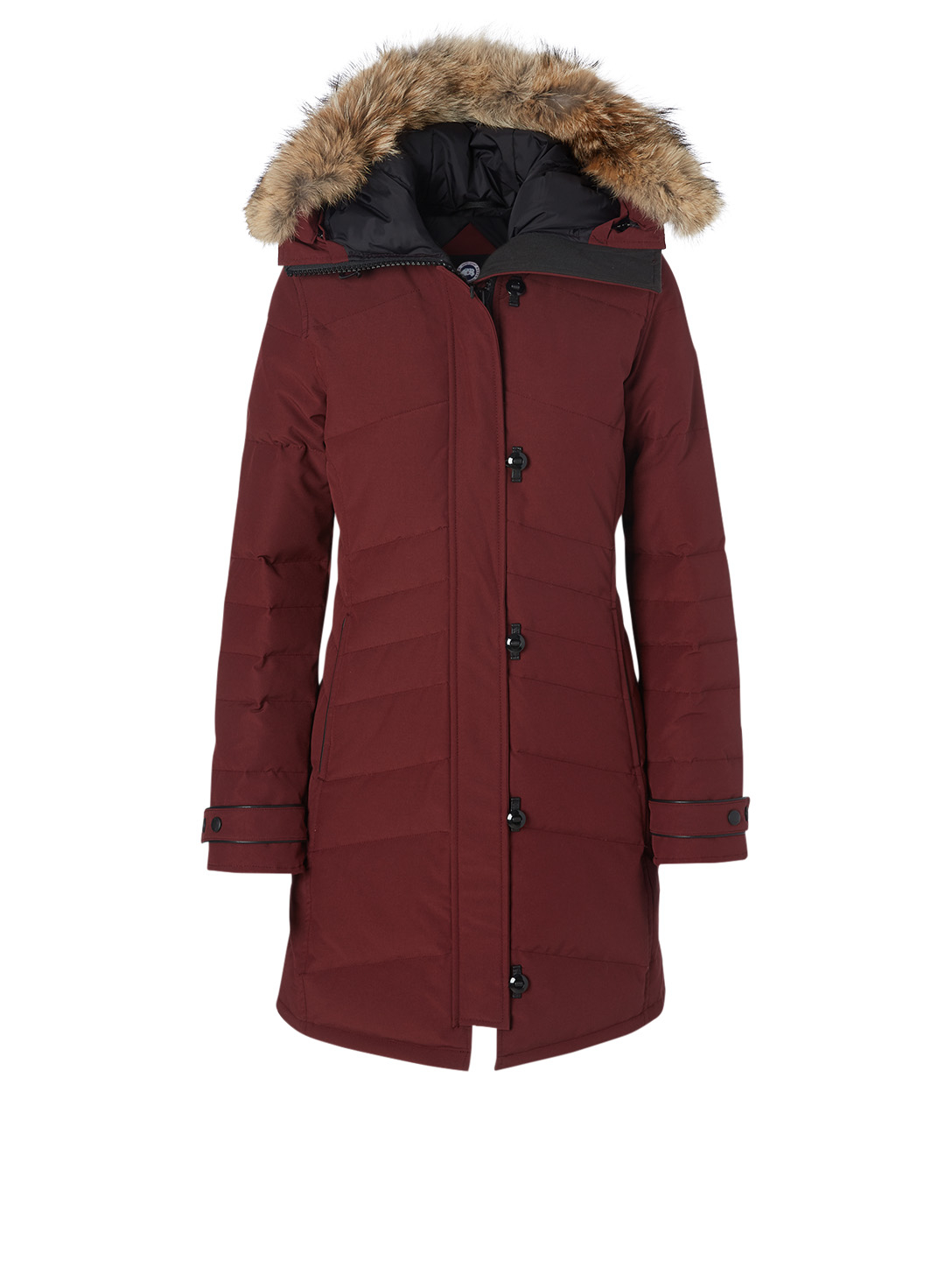 CANADA GOOSE Lorette Down Parka With Fur Hood Women's Red