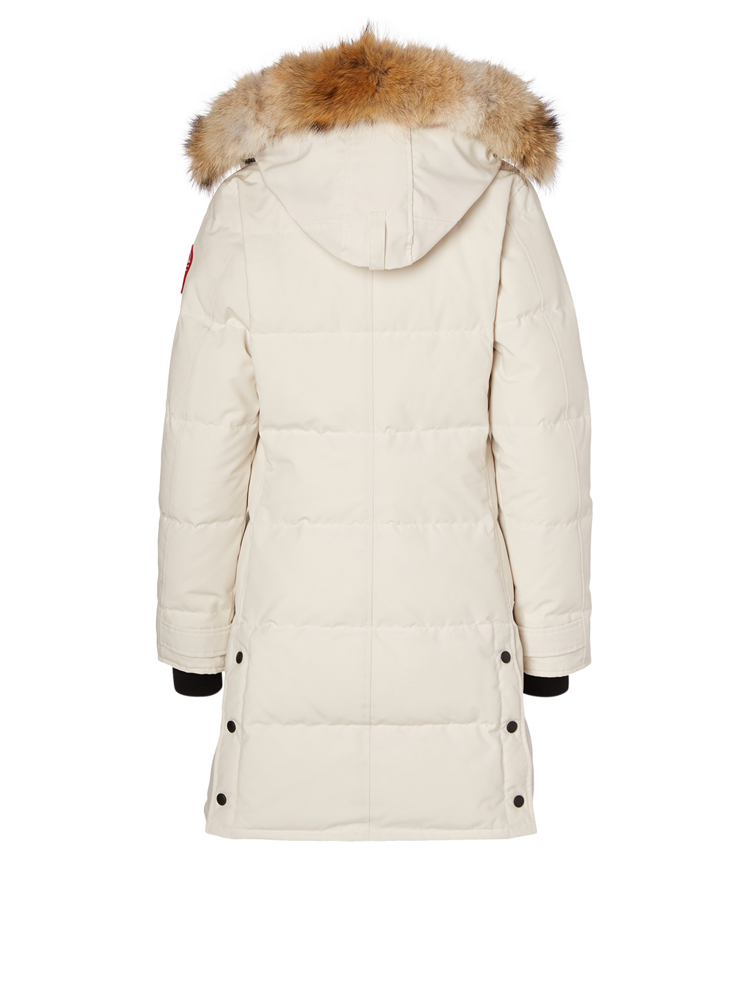 CANADA GOOSE Shelburne Down Parka With Fur Hood Women's White