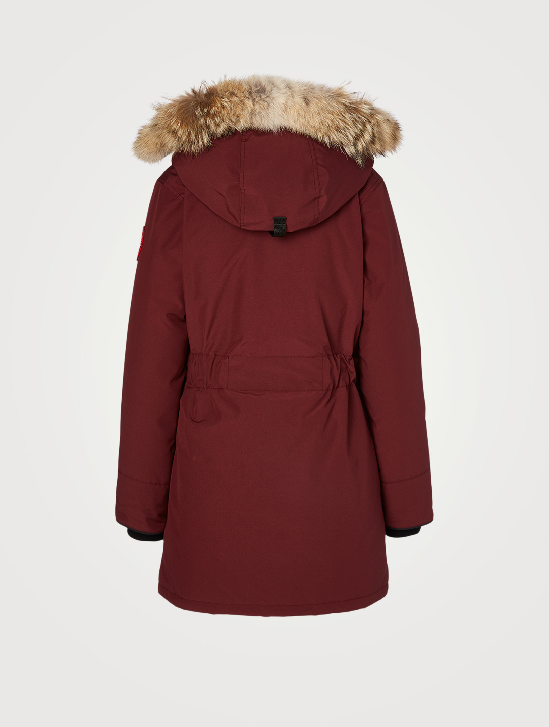 CANADA GOOSE Trillium Down Parka With Fur Hood Women's Red