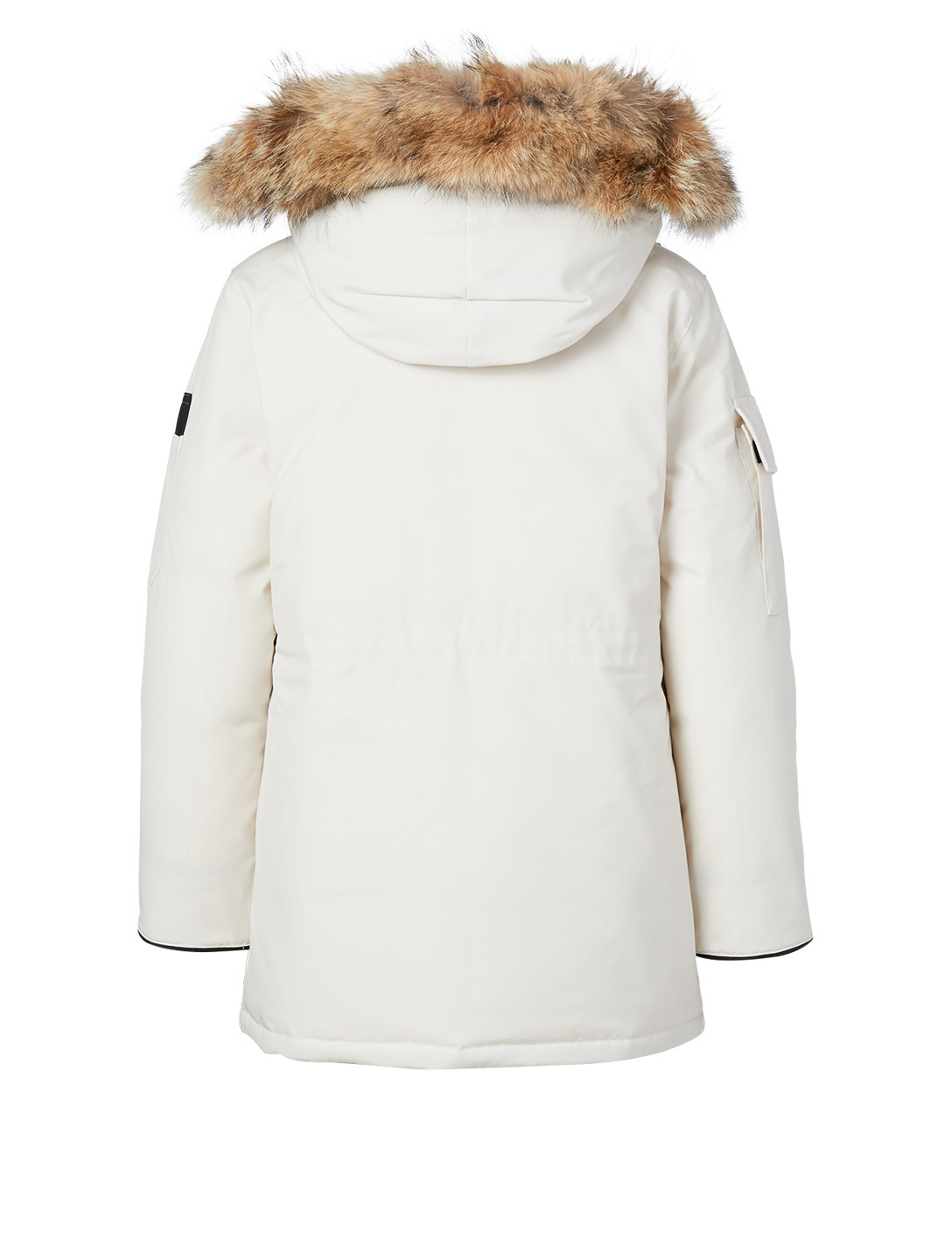 CANADA GOOSE Expedition Parka With Fur Hood - Fusion Fit Women's White