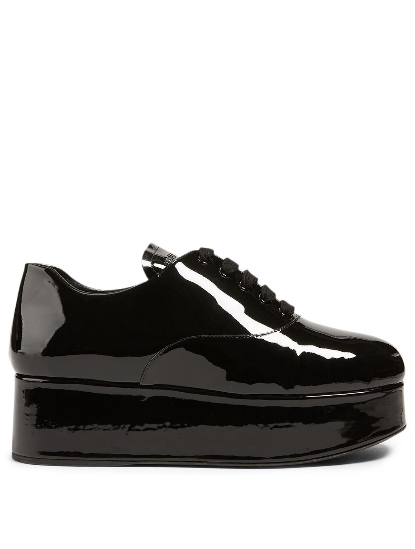 Patent Leather Platform Oxford Shoes by Holt Renfrew