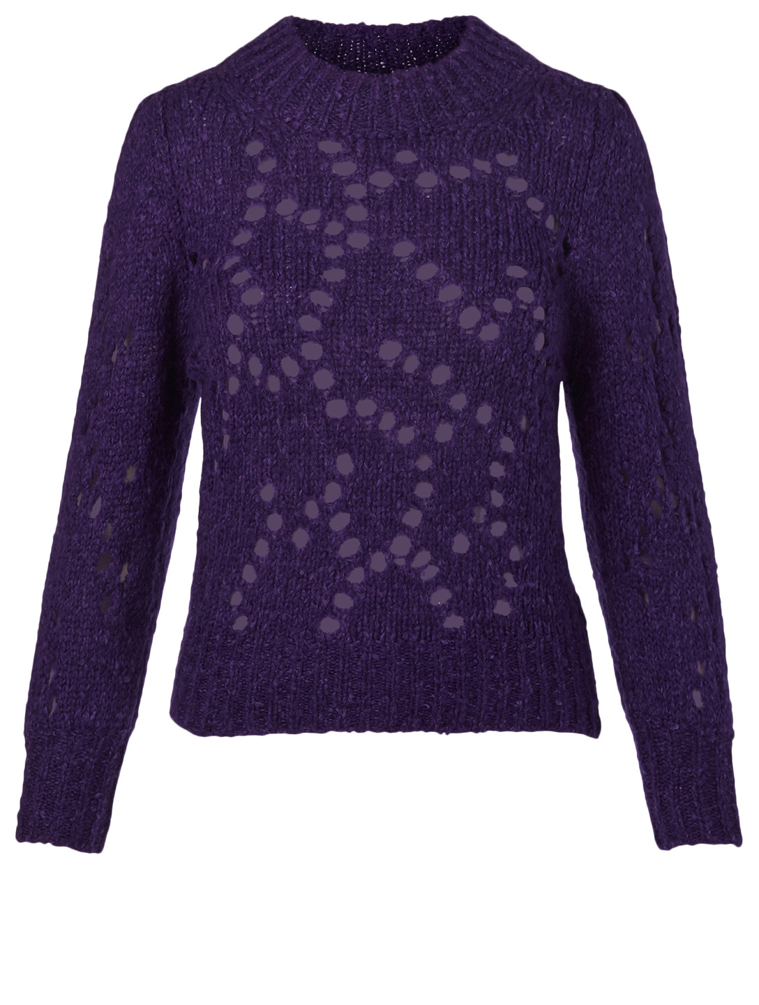ISABEL MARANT ÉTOILE Sineady Wool-Blend Sweater Women's Purple