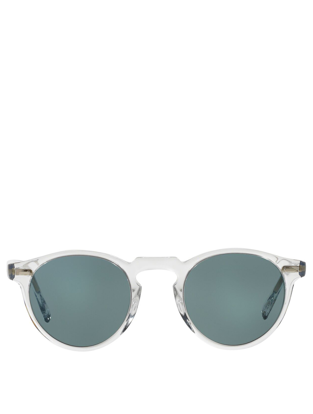 OLIVER PEOPLES Gregory Peck Round Sunglasses Men's Blue