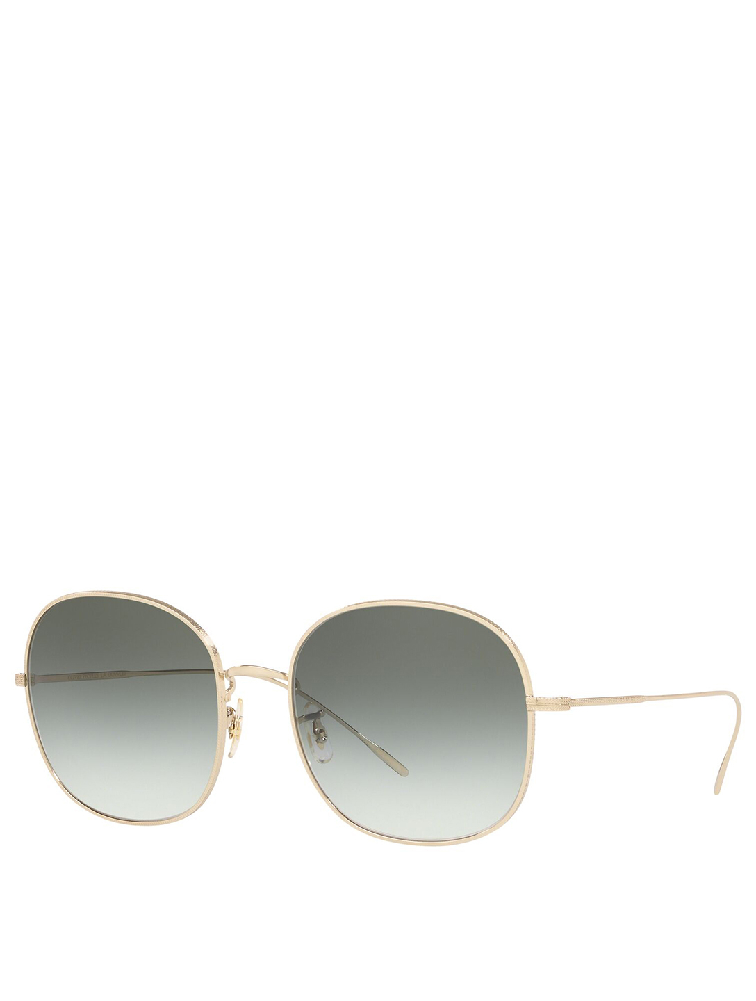 OLIVER PEOPLES Mehrie Round Sunglasses Women's Metallic