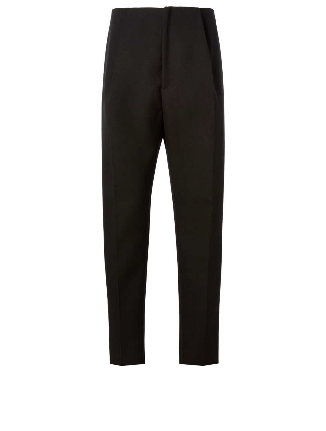 BOTTEGA VENETA Wool Pleated Pants Men's Black