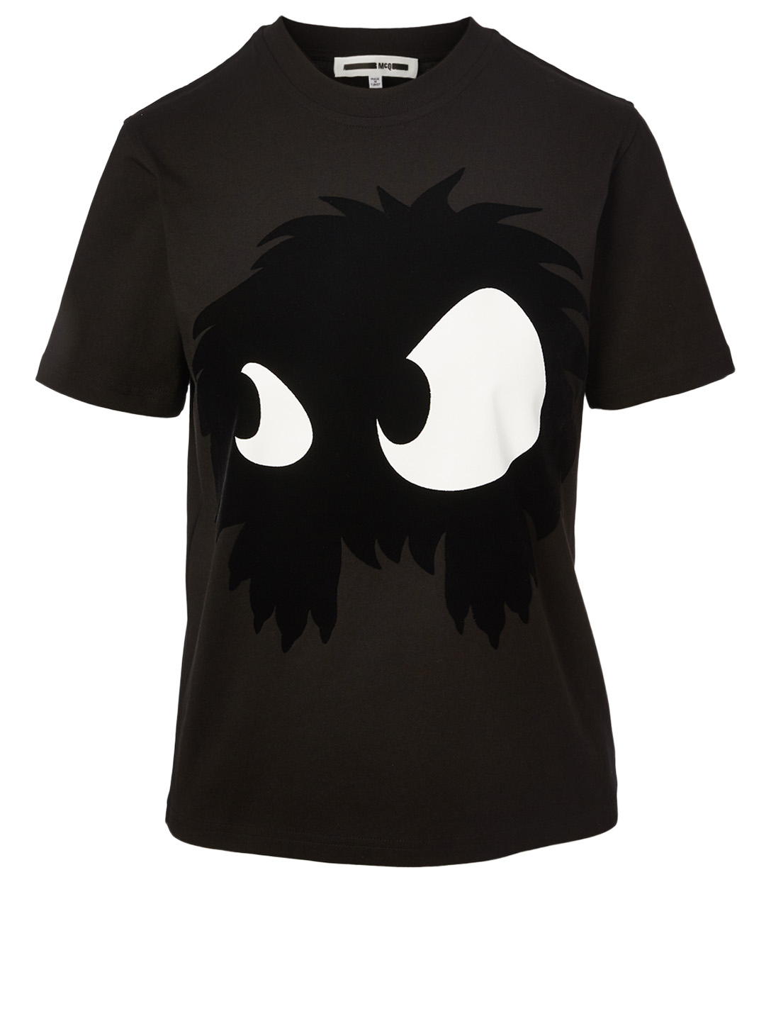 MCQ ALEXANDER MCQUEEN Chester Monster Cotton T-Shirt Women's Black