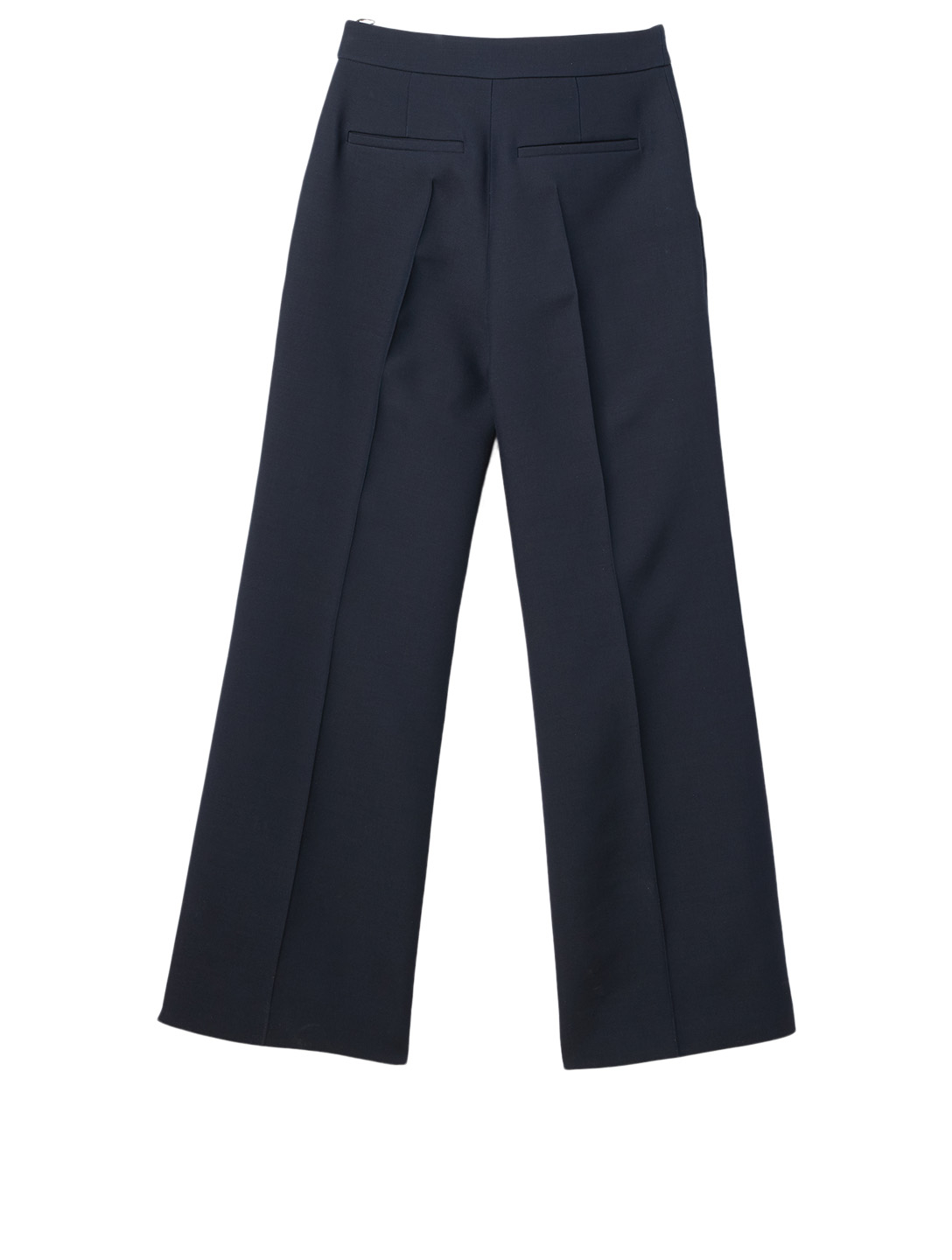 VALENTINO Wool And Silk Pants Women's Blue