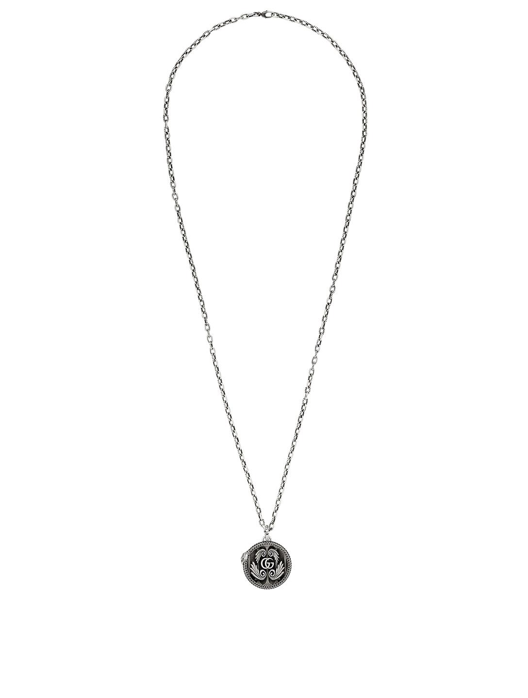 ca56912d7f GUCCI Double G Silver Pendant Necklace | Holt Renfrew