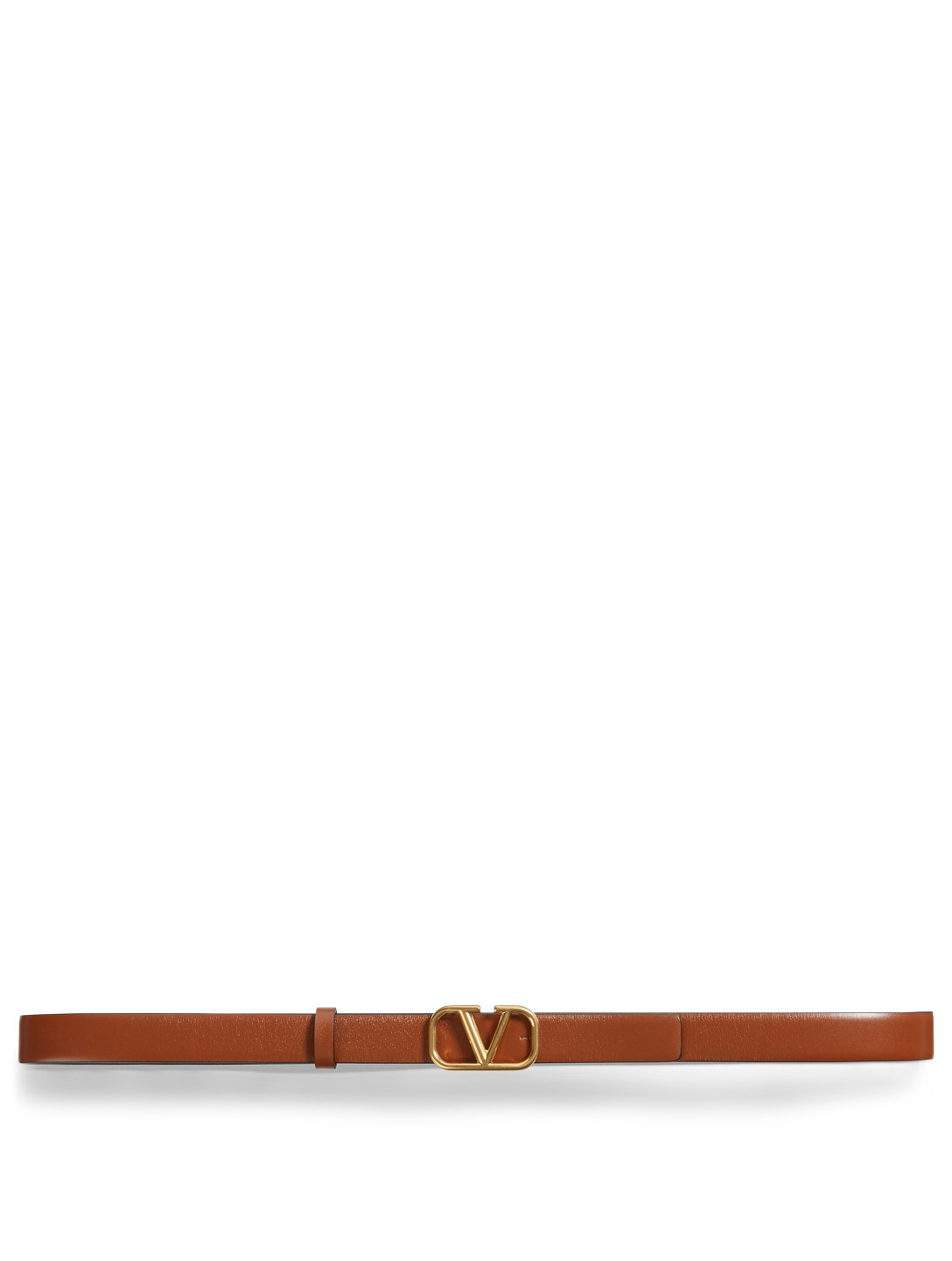 VALENTINO GARAVANI VLOGO Reversible Leather Belt Women's Multi