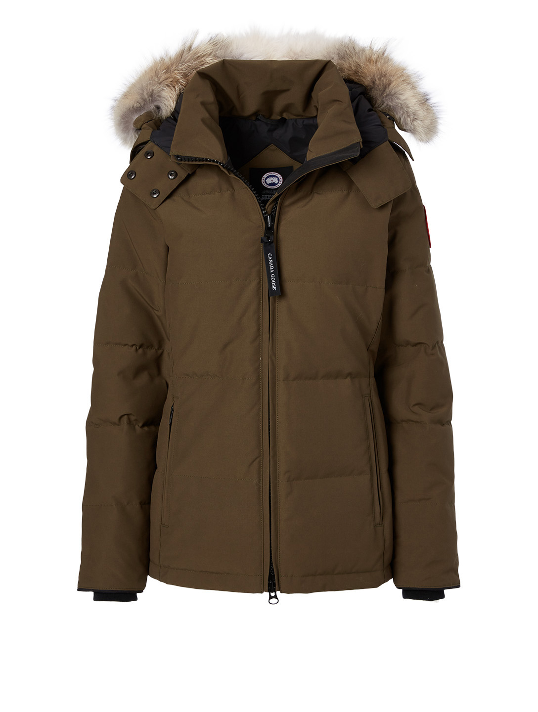 CANADA GOOSE Chelsea Down Parka With Fur Hood Women's Green
