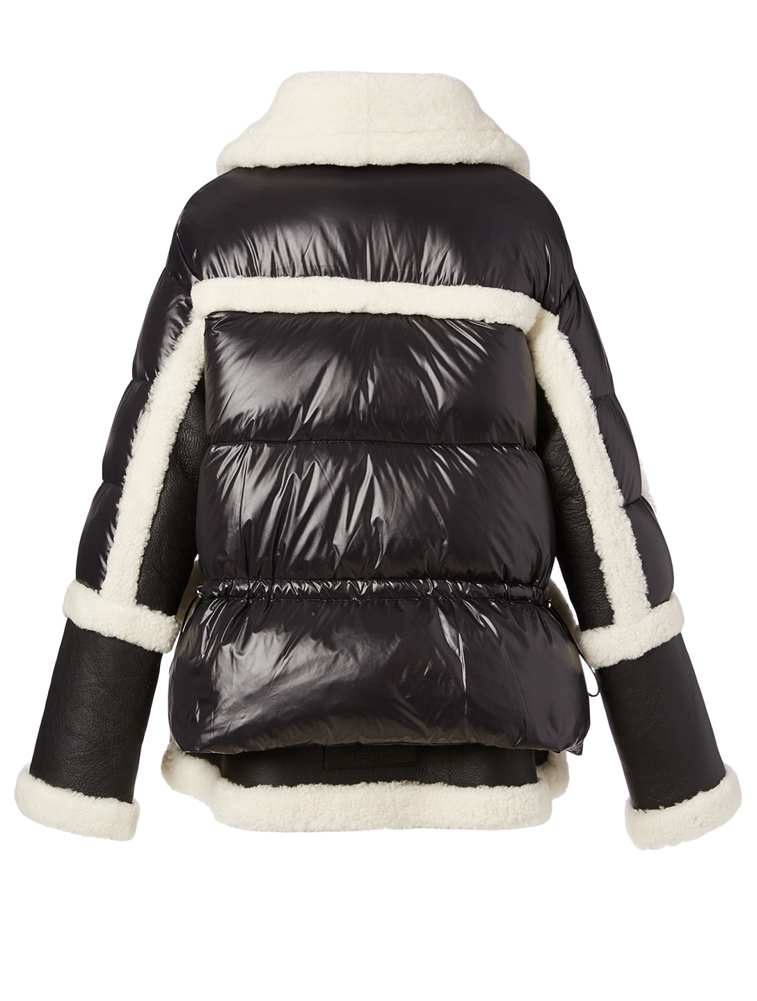 NICOLE BENISTI Montaigne Shearling Down Puffer Jacket Women's Multi
