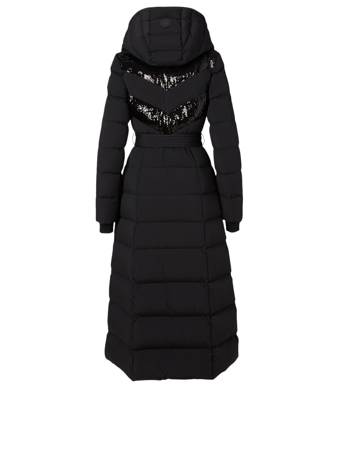 MACKAGE Adina Down Long Coat With Sequins Women's Black