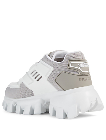 PRADA Cloudbust Thunder Knit Sneakers Women's Grey