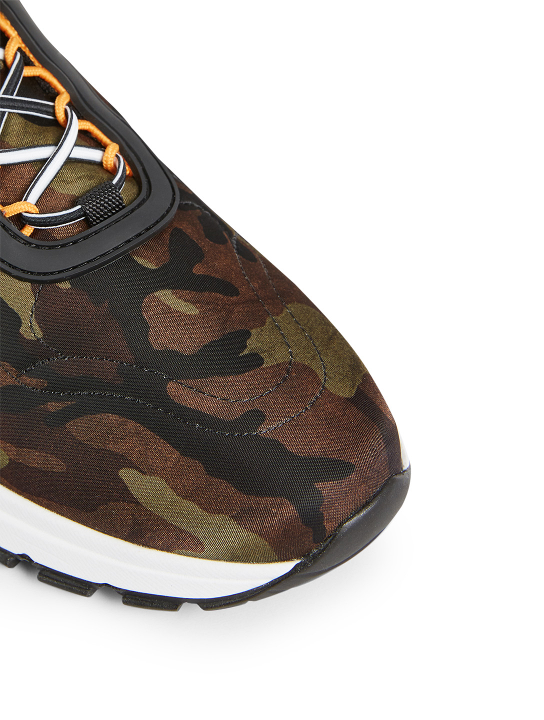 PRADA Nylon Sneakers In Camouflage Women's Multi