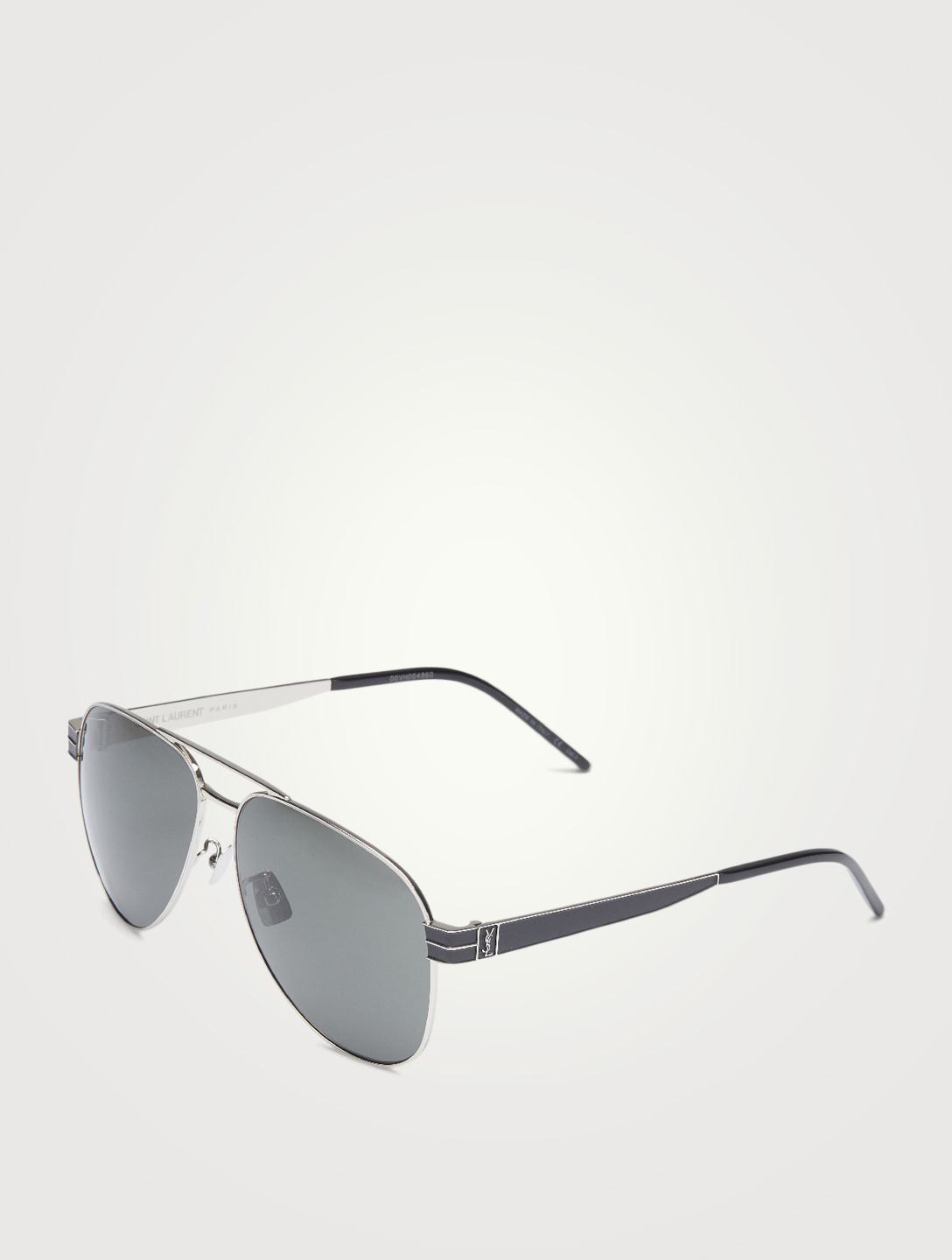 SAINT LAURENT SL M53 Aviator Sunglasses Men's Metallic