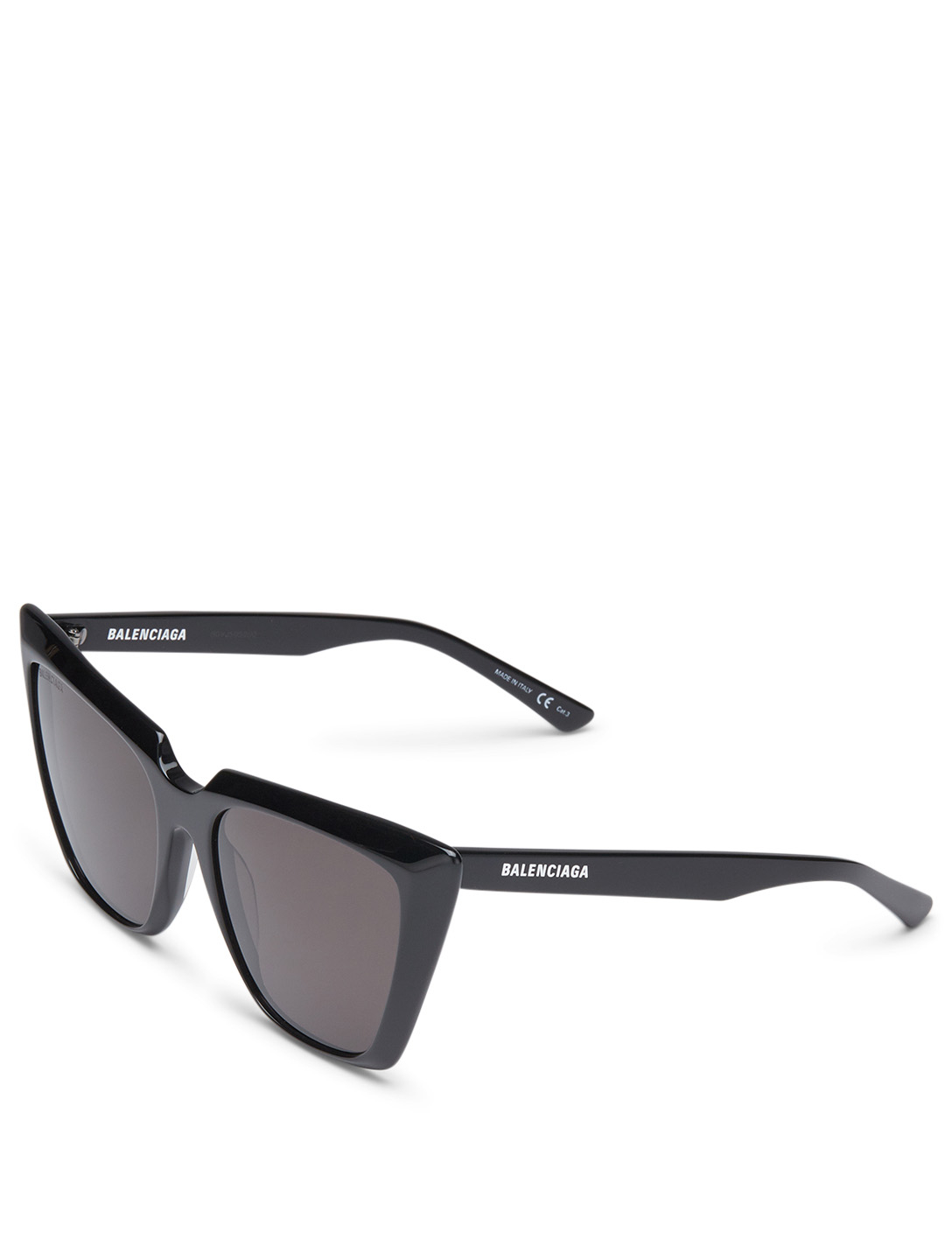 BALENCIAGA Tip Cat Eye Sunglasses Women's Black