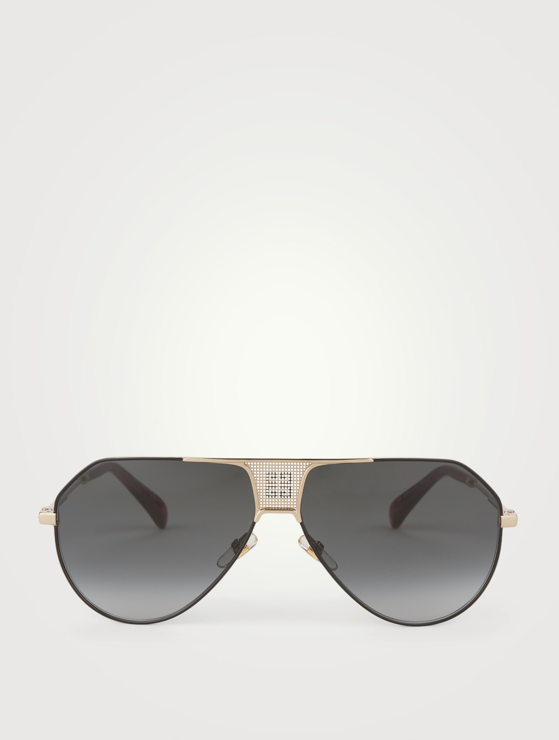 GIVENCHY Aviator Sunglasses Women's Metallic