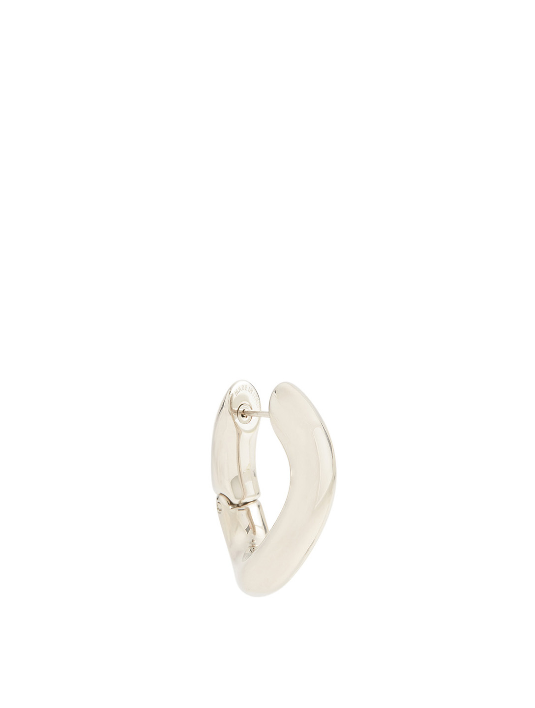 BALENCIAGA Loop Earrings Women's Metallic