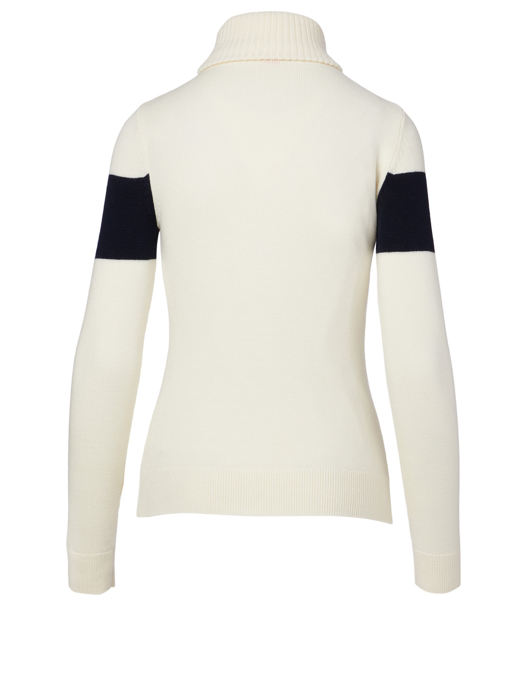 PERFECT MOMENT Wool Ski Sweater Women's White