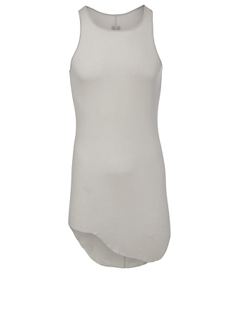 RICK OWENS Cotton Tank Top Men's White