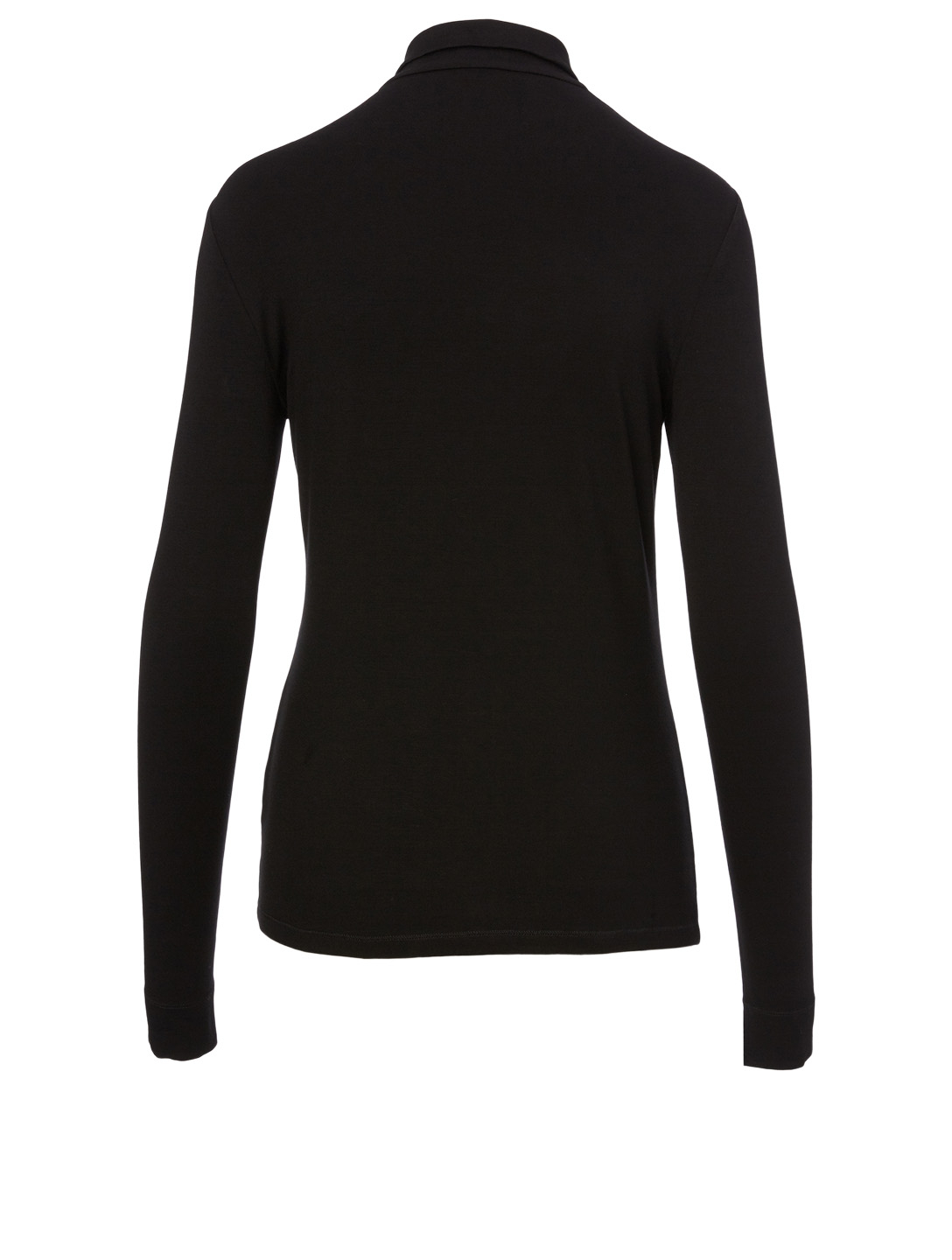 LAFAYETTE 148 NEW YORK Lane Zip Top Women's Black