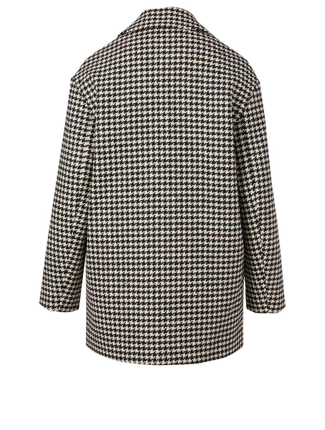 LINE Elodie Wool Boyfriend Jacket In Houndstooth H Project Multi
