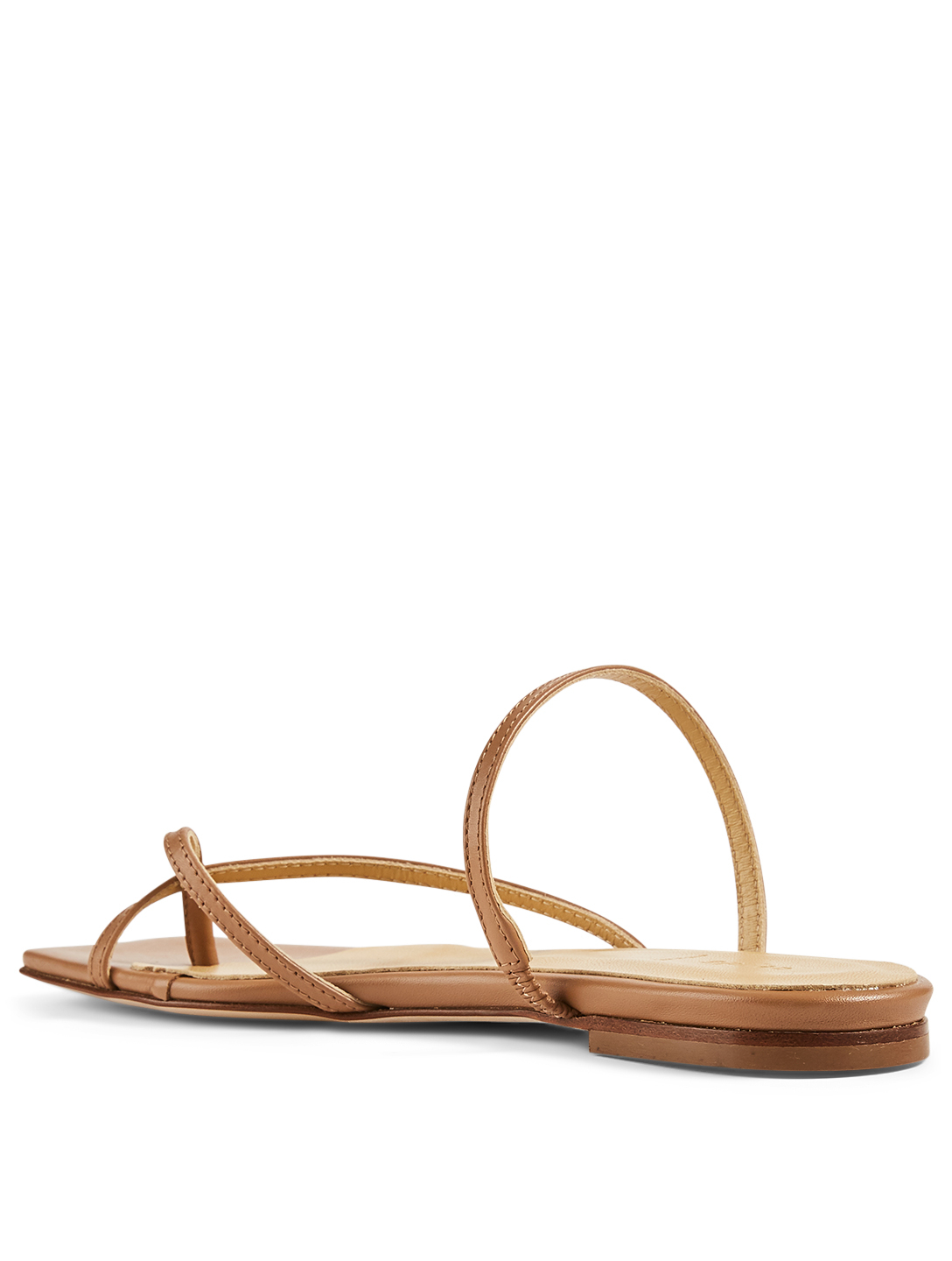 AEYDE Marina Leather Sandals Women's Beige