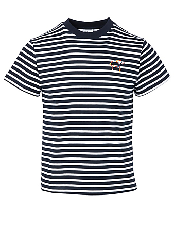 KOTN Knot On My Planet Cotton Band T-Shirt In Stripes H Project Multi